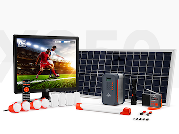 X100 with Solar TV